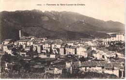 FR66 SAINT LAURENT DE CERDANS - Brun 1020  - Panorama De Saint Laurent De Cerdans - Belle - Other Municipalities