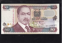 Kenia 50 Shillings  1996 Unc - Kenya
