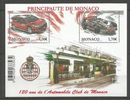 Bloc  Monaco En Neuf **  N 95  Vendu Au Prix De La Poste - Blocks & Sheetlets