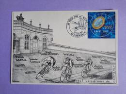 Carte Souvenir Tour De France 2001 - Passage à Commercy - Cycling