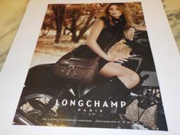 PUBLICITE LES SACS  LONGCHAMP 2011 - Otros