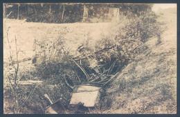 LE MANS La Voiture Après L'accident Fatal De Maurice Fournier Et Georges Louvel Le 23 7 1911 Circuit De La Sarthe - Non Classificati