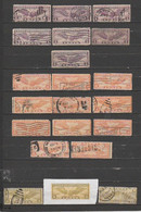 USA- Lot Of 21 Used Stamps. - 1a. 1918-1940 Used