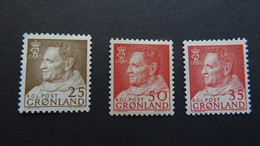 1963-68 Yv 42+43+46 MNH B35 - Ungebraucht