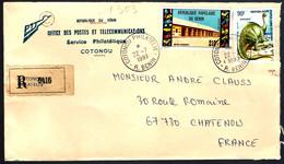 ANIMAL PRÉHISTORIQUE - RECOMMANDÉ DE LA RÉPUBLIQUE DU BENIN - - Otros