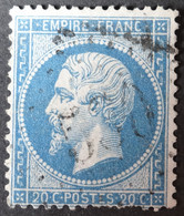 22 Obl GC 530 Boos (74 Seine Inférieure ) Ind 6 ; Frappe Centrée - 1849-1876: Classic Period