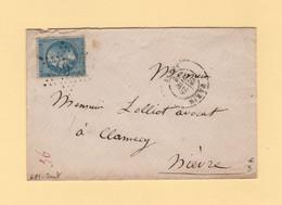 Paris - Etoile 6P1 - Senat - 28 Nov 1866 - 1849-1876: Classic Period