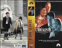 """""""L'IDEALISTE"""" -jaquette SPECIMEN Originale CIC VIDEO -the Rainmaker -de John Grisham - Action, Adventure"""