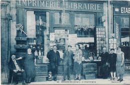 18 Sancoins  - L'imprimerie E. Moreau - Sancoins