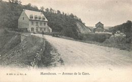 MAREDSOUS - Avenue De La Gare - Carte Circulé En 1907 - Anhée