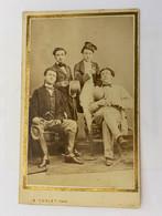 Photo Carte De Visite Ancienne - Groupe D'hommes - Old (before 1900)