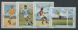 Jemen (Republik) 1994 Fußball-WM USA 139/42 Postfrisch - Yemen