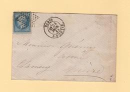 Paris - Etoile 8 - R D Antin - 24 Fevr 1868 - 1849-1876: Classic Period