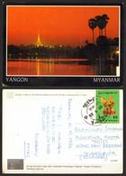 Myanmar Yangon Nice Stamp #27762 - Myanmar (Burma)