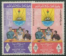 Kuwait 1969 Woche Der Erziehung 437/38 Postfrisch - Koeweit
