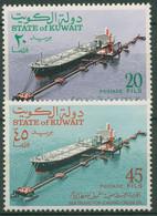 Kuwait 1970 Schiffe Großtankschiffe Erdölverladung 509/10 Postfrisch - Koeweit