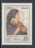 2013 Syria Mother's Day  Complete Set Of 1 MNH - Syria