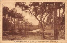HOSSEGOR - Le Golf - La Rivière Traversant Le Parcours N°3 - Très Bon état - Hossegor