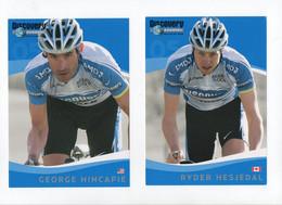 CYCLISME   Tour De France Discovery Channel   Hincapie  Et Hesjedal - Cycling
