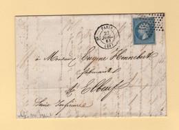 Paris - Etoile - 3e Depart - 22 Juil 1863 - 1849-1876: Classic Period