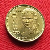 Mexico 20 Pesos 1985 Mexique Mexiko Messico Wºº - Mexico