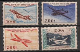 France - 1954 - Poste Aérienne PA N°Yv. 30 à 33 - Série Complète - Neuf Luxe ** / MNH / Postfrisch - 1927-1959 Postfris
