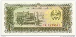 LAOS 10 KIP ND1979 UNC P 27 - Laos