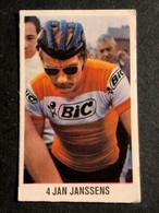 Jan Janssen BIC - NOVY / Dubbel Bubble - Petit Carte/chromo /  Little Card - Cyclists - Cyclisme - Ciclismo -wielrennen - Cycling