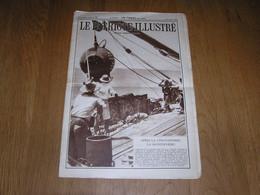 LE PATRIOTE ILLUSTRE N° 35 Année 1934 Régionalisme Journal Journalisme Abattage D'un Bloc De Pierre à Senzeille Carrière - Belgium