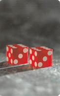 Trivista Plastics - Casino Related Sample Card - Carte Di Casinò
