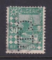 Perforé/perfin/lochung Algérie 1927 No DZ79  C.L. Crédit Lyonnais (13) - Oblitérés