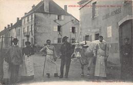 71 - SEMUR EN BRIONNAIS - AGRICULTURE - Promenade Du Boeuf Gras -   (A-188) Voir Scan Recto Verso - Otros Municipios
