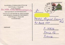 Czechoslovakia / Tchécoslovaquie 198?, House / Maison /  Ville De Melnik / Circulated Card - Cartas