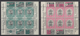South Africa, Scott 72-73 (SG MS69-MS70), MNH - Unused Stamps