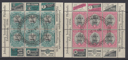 South Africa, Scott 72-73 (SG MS69-MS70), Used - Used Stamps