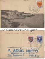 TOUR DE FRANCE 1955: YT 1003 + 1002 + 1005 - CP ODESSA - Gedenkstempel