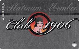 Golden Gate Casino - Las Vegas, NV - BLANK Platinum Member 2nd Issue Slot Card - Carte Di Casinò