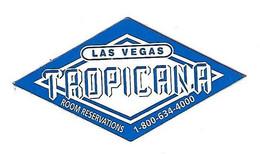 Tropicana Casino - Las Vegas, NV - Diamond Shaped Refrigerator Magnet - Carte Di Casinò