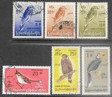 Burma  1968    Sc#200-4, 206  6 Diff  Birds Used    2016 Scott Value $4.65 - Myanmar (Birmanie 1948-...)