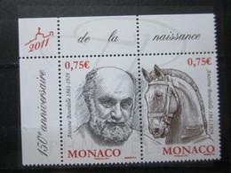VEND BEAUX TIMBRES DE MONACO N° 2769 + 2770 + BDF , XX !!! - Unused Stamps