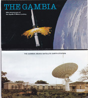 2 Carnets ,, Gambia ,carnets 1979  Apollo - Gambia (1965-...)
