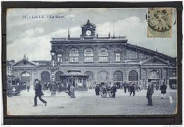 5966 . LILLE . LA GARE  . 1906 - Lille