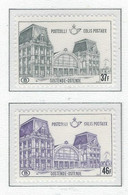 COB   TR 408P2 + 411P2   Papier Blanc (+150%)  (MNH) - 1952-....