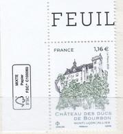 Château Des Ducs De Bourbon Neuf ** - Sin Clasificación