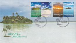 Cocos (Keeling( Islands 2015 Islands Of Cocos Sc 383-84 FDC - Cocos (Keeling) Islands