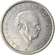 Monnaie, Monaco, Rainier III, 2 Francs, 1982, SUP, Nickel, Gadoury:MC151, KM:157 - 1960-2001 Neue Francs