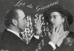 """Carte-Photo - Wilson &cWilsonne De GIONNI (Studio Harcourt) - Télépathe Surnommée """"Femme Radar"""". Inhumée à SACY-LE-GRAND - Circus"""