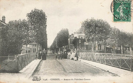 CORBEIL : AVENUE DU PRESIDENT CARNOT - Corbeil Essonnes