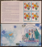 Vietnam Viet Nam Booklet Issued On 29th Of Apr 2021 :  LIVING SAFELY WITH COVID-19 PANDEMIC / VACCINATION - Vietnam