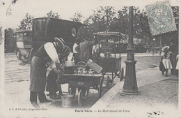CPA - PARIS - ANCIENS PETITS MÉTIERS - LE MARCHAND DE COCO - Artigianato Di Parigi